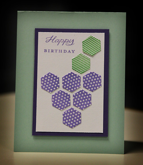 HexagonGrapeCard