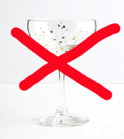 Champagne-no-no